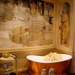 Фото 281: Фреска в ванной комнате