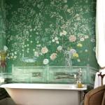 Фото 284: Зеленая фреска в ванне