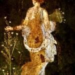 Фото 297: Девушка на фреске