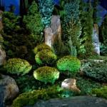 Фото 19: Подсветка деревьев