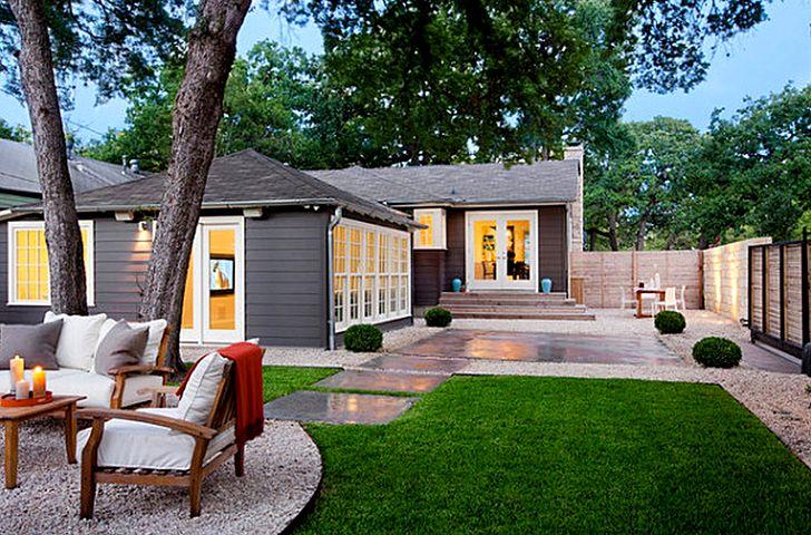 Дизайн интерьера двора
