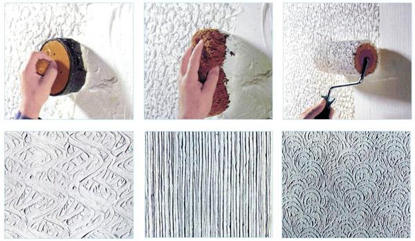 Различные способы окрашивания стен