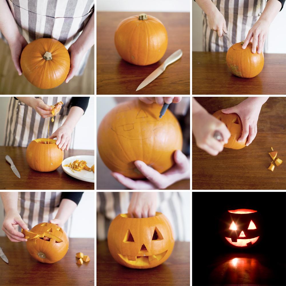 Как сделать своими руками тыкву на хэллоуин