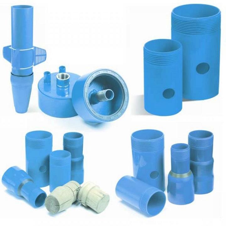 Комплект элементов для скважин из полимерного материала обеспечивает увеличение скорости монтажа