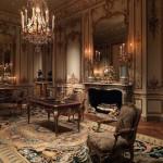 Волшебный роскошный классический интерьер с великолепным ковром