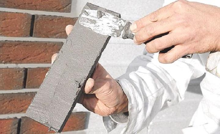 Технология облицовки клинкерной плиткой