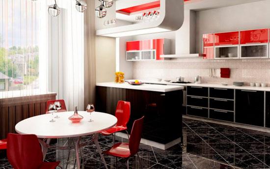 Стол для кухни круглой формы