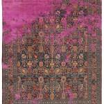 Фото 378: Смесь современности с классикой обычный ковер с привычным узором взрывают остовы ярко-розового