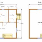 Фото 29: Проект двухэтажной каркасной бани 6х6
