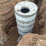 Фото 23: Кессон из бетонных колец для скважины