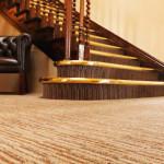 Фото 296: Первый этаж американского дома с напольным покрытием красиво