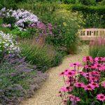 Фото 38: Дорожка в саду из гравия