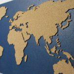 Фото 19: Карта с использованием пробки