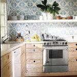 Фото 93: Обои для кухни под рисунок плитки