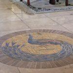 Фото 28: Рисунок-мозаика из плитки