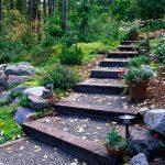 Фото 62: Ландшафтный дизайн на склоне