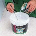 Фото 37: Подготовка водоэмульсионной краски