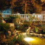 Фото 65: Подсветка водоема