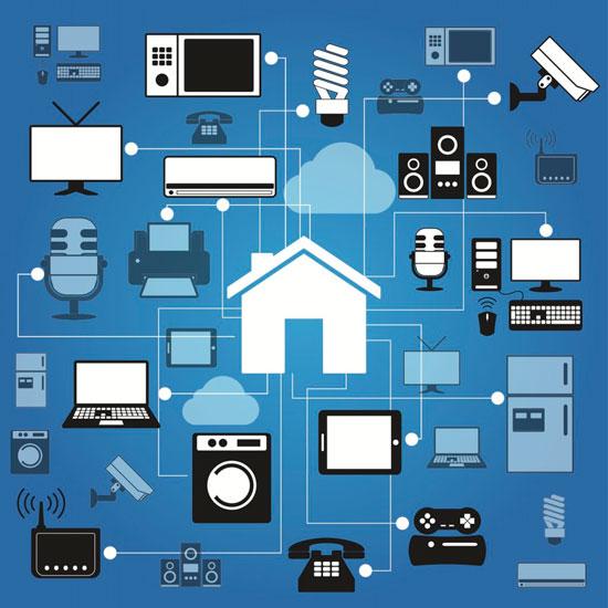 Схема всех технологий дома