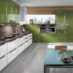 Фото 70: Сочетание цветов на кухне