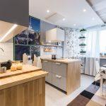 Фото 71: Уютная современная кухня