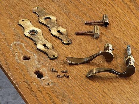 Аксессуары для реставрации дверей