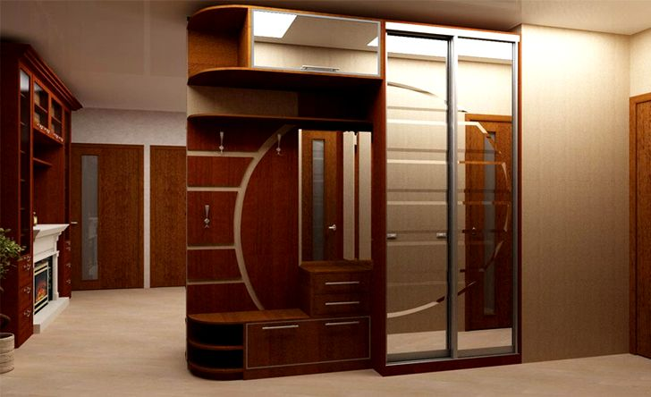 Встроенный шкаф в прихжей