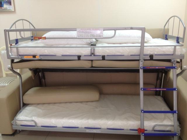 Диван превращающийся в двухярусную кровать