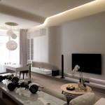 Дизайн зала в квартире фото 12