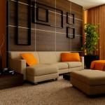 Дизайн зала в квартире фото 13