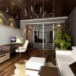 Дизайн зала в квартире фото 17
