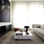 Дизайн зала в квартире фото 24