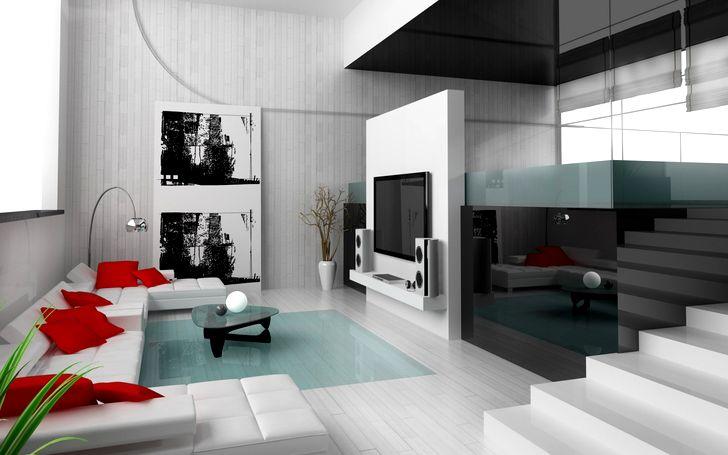 Дизайн зала в квартире фото 27