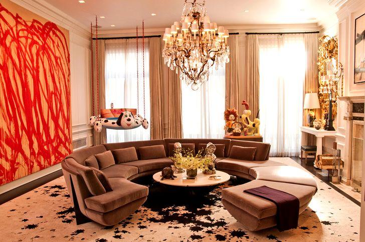 Дизайн зала в квартире фото 34
