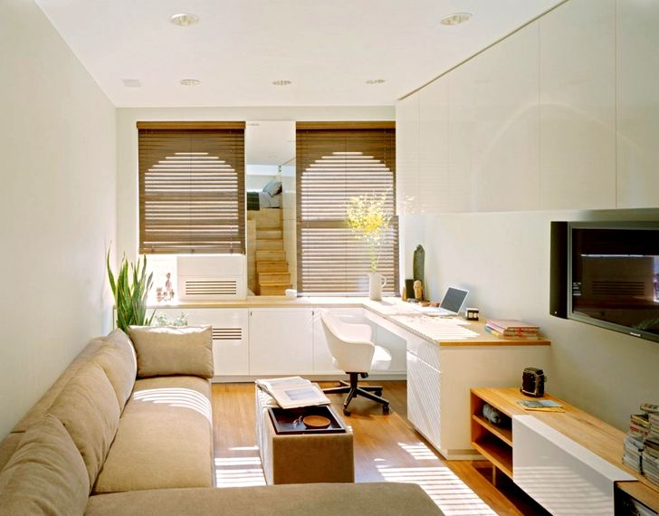 Дизайн зала в квартире фото 39