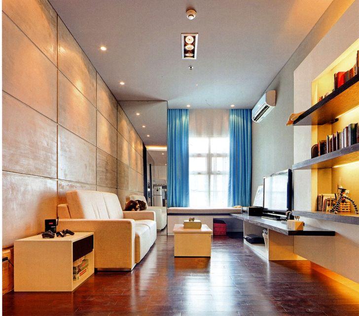 Дизайн зала в квартире фото 41