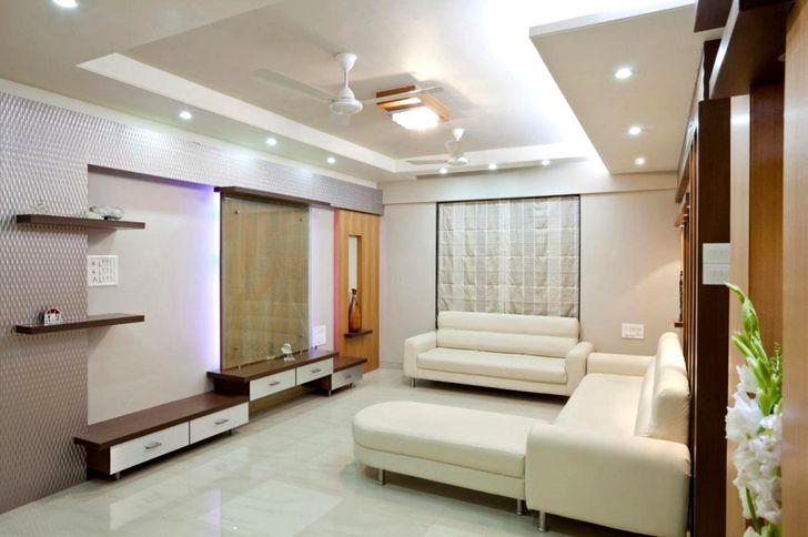 Дизайн зала в квартире фото 43