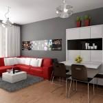 Дизайн зала в квартире фото 9