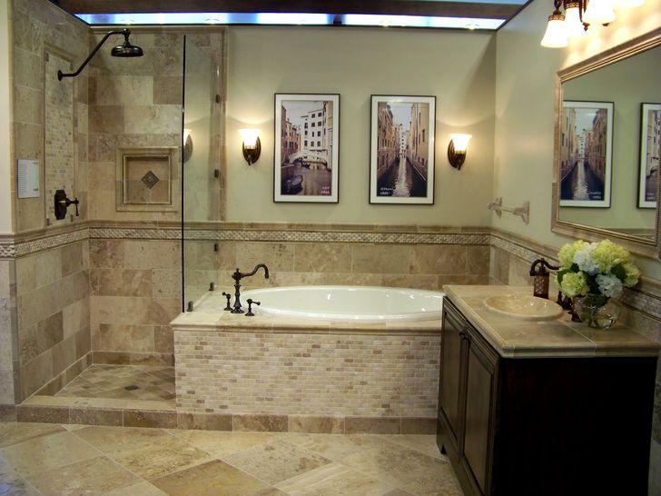 Идеи плитки для пола в ванной