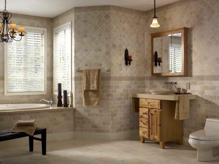Олдскул в плитки для ванной