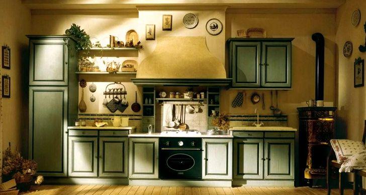 Традиционная кухня в стиле прованс