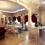 гостинная в классическом стиле фото 1