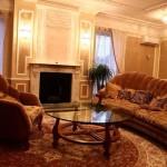 гостинная в классическом стиле фото 14