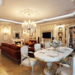 гостинная в классическом стиле фото 2