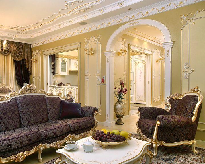 гостинная в классическом стиле фото 24