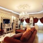 гостинная в классическом стиле фото 5