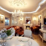 гостинная в классическом стиле фото 7