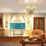 гостинная в классическом стиле фото 8
