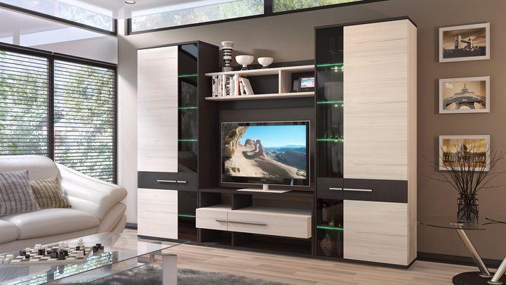 Дизайн модульной гостиной
