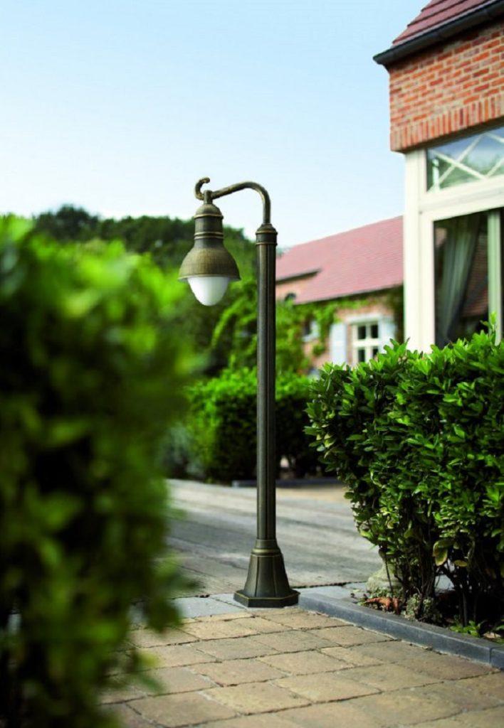 Дачные фонари для больших участков